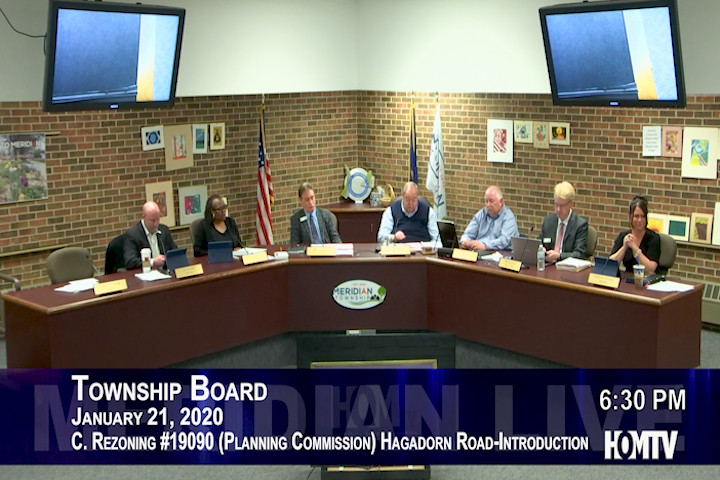 Township Board Revisits Rezoning of Residential Properties on Hagadorn Road
