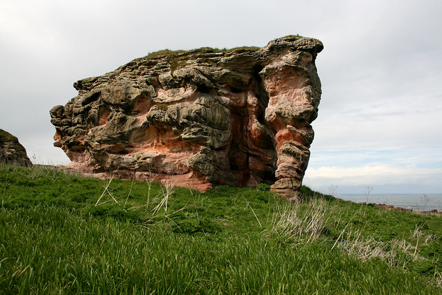The Fife Coast Path near Boarhills