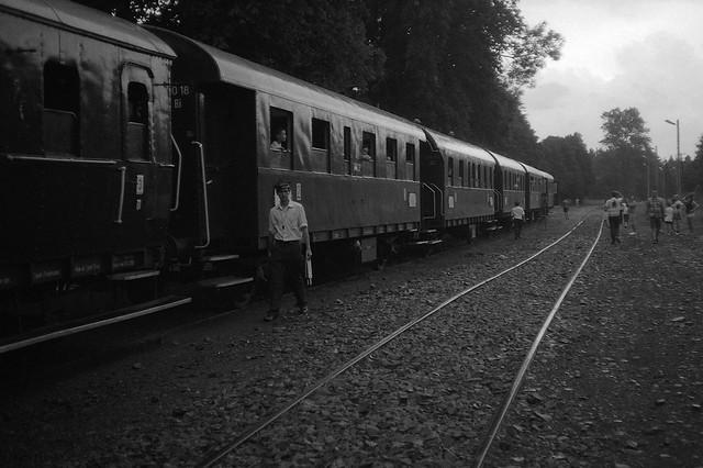 Pociąg pod niespecjalnym nadzorem
