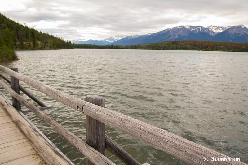 Pyramid Lake, silta, Jasper