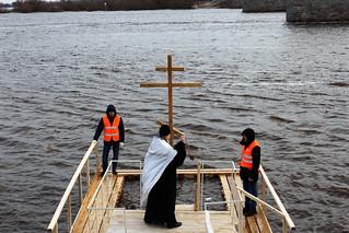 18.01.2020 | Великое освящение воды на водозаборе