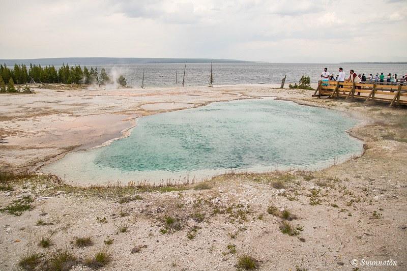 Kuumavesilähde Yellowstone