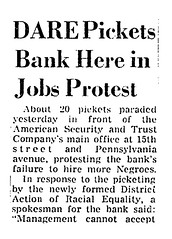 District Action for Racial Equality (DARE): 1963