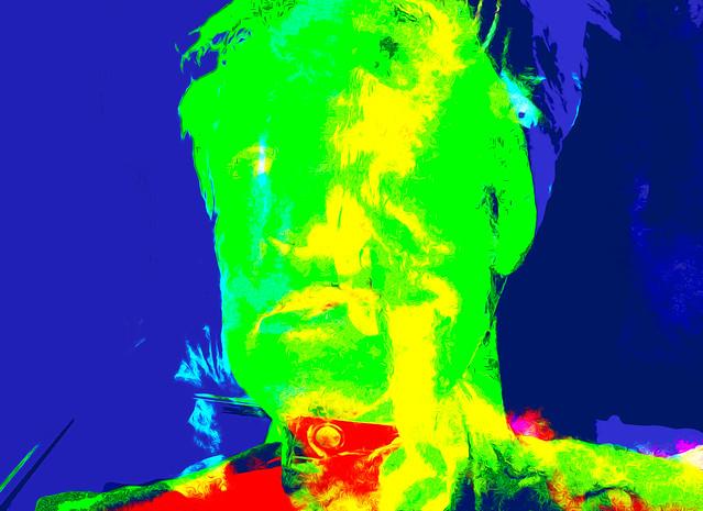 Bildschichten Selbstportrait 03