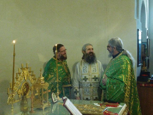 21 януари 2020 г. - Св. Максим Изповедник и 50 г. юбилей на отец Емил