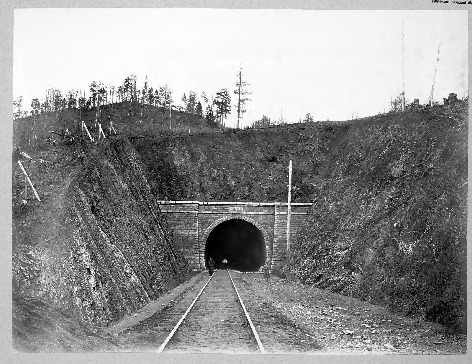 22. Тоннель №12 длиной 365 саженей на 36 версте