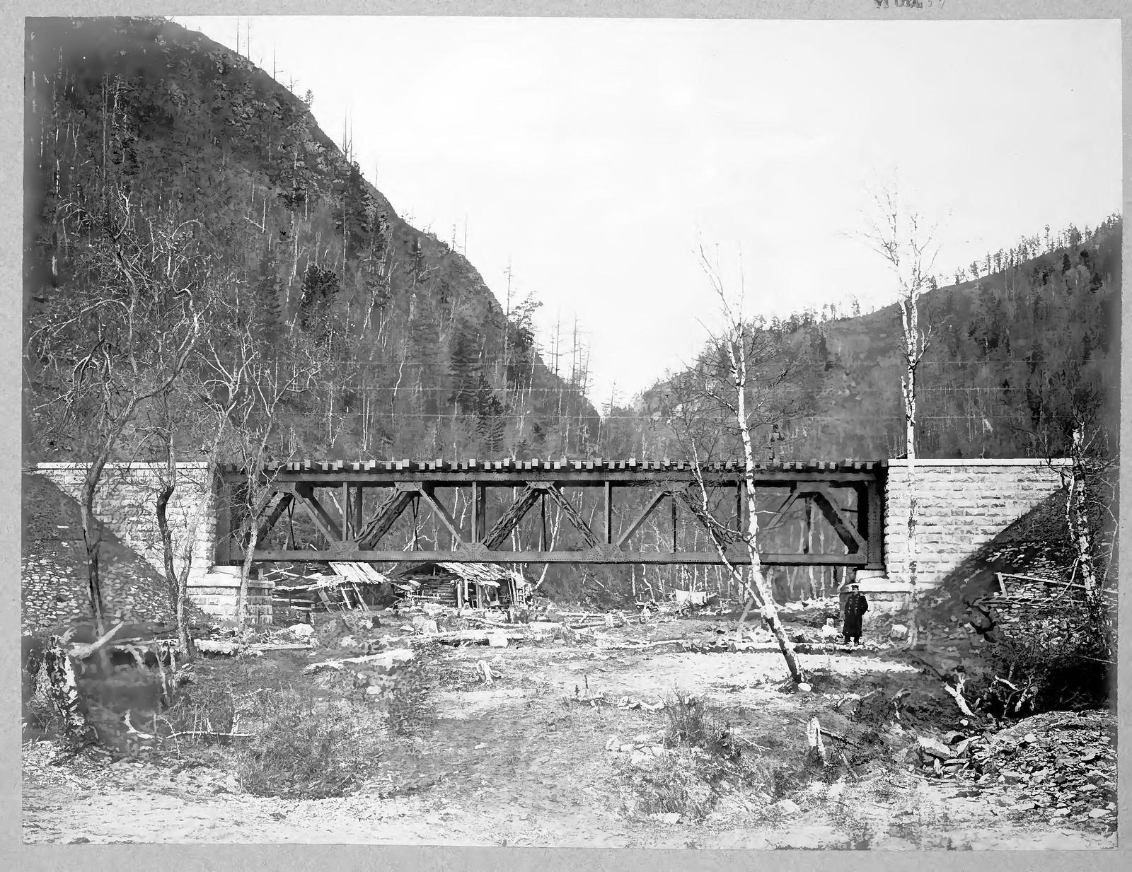 18. Строительство железнодорожного моста