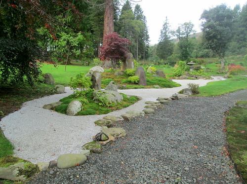 Dry Garden, Cowden Japanese Garden