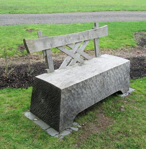 Bench, Cowden Japanese Garden