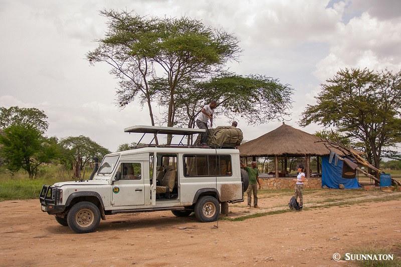 Serengeti, safariauto, pakkaus