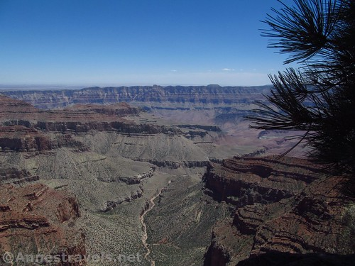 Views along the Cape Royal Trail, Grand Canyon National Park, Arizona
