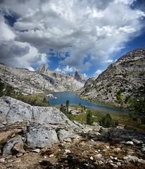 Upper Evolution Lake - John Muir Trail