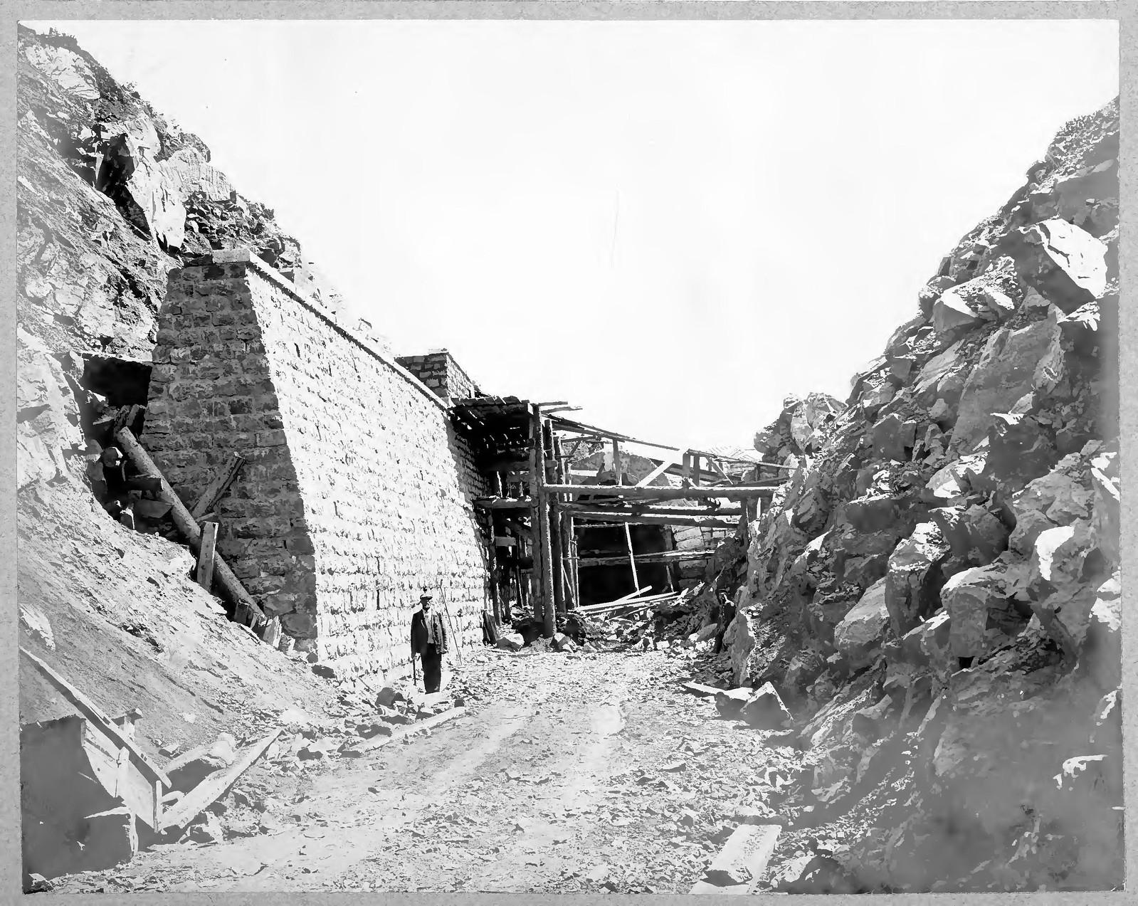 16. Тоннель и подпорная стена на 29 версте