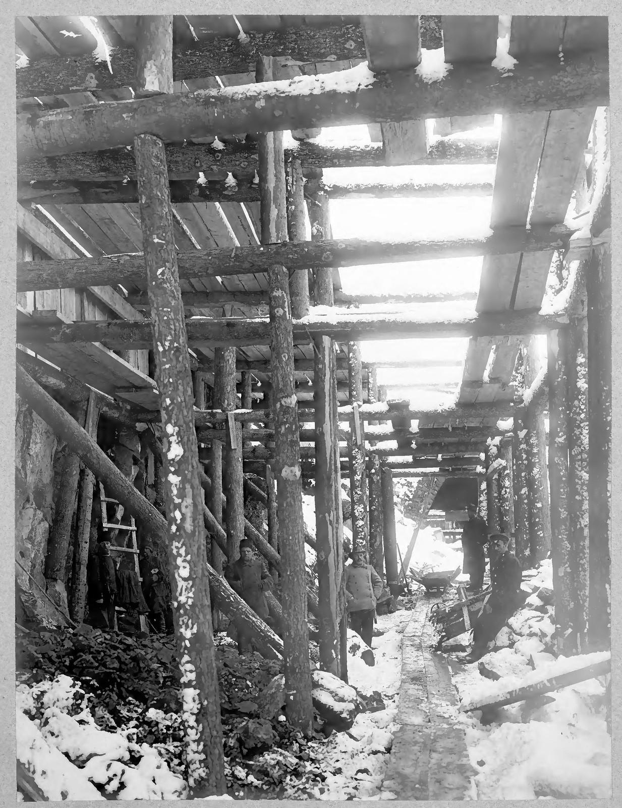 15. Строительство подпорной стены галереи