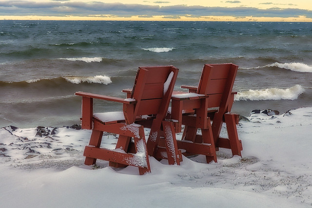 Waiting For Spring ~ #EmptyChairs2020