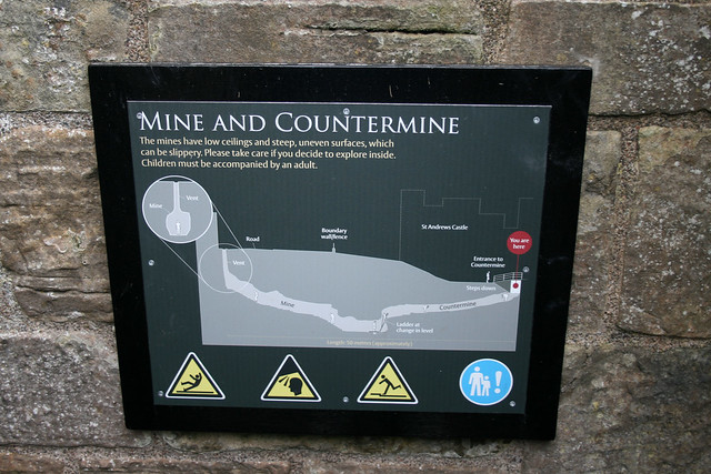 The Mine, St Andrews Castle