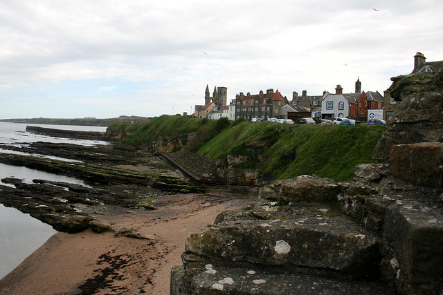 View from St Andrews Castle
