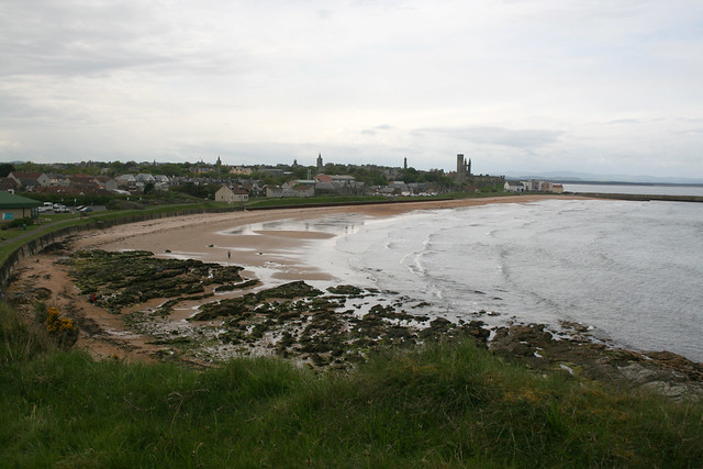 St Andrews from the coast path