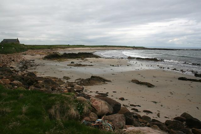 The Fife Coast Path near Craighead