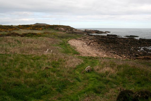 The Fife Coast Path near Fife Ness