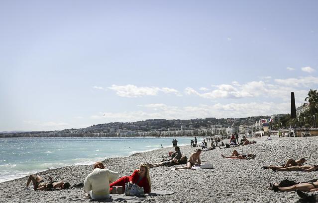 Plage Blue Beach, Nice