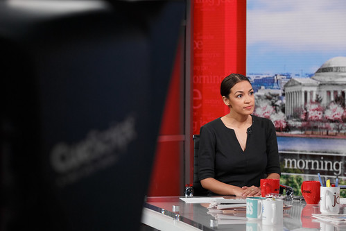 Alexandria Ocasio-Cortez | by Morning Joe show