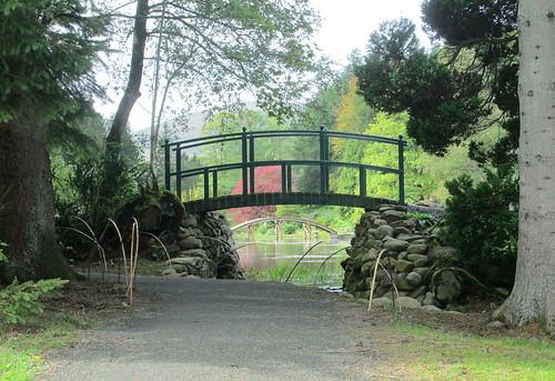 Bridges at Japanese Garden, Cowden, Clackmannanshire