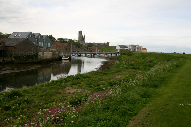 The harbour at St Andrews