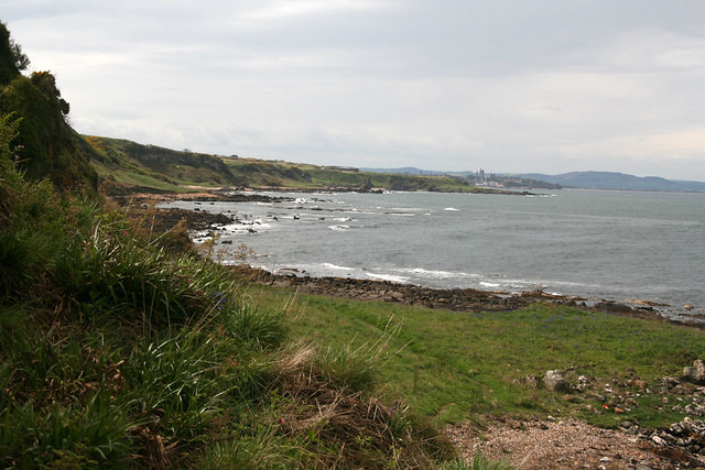 The Fife Coast Path near Kinkell