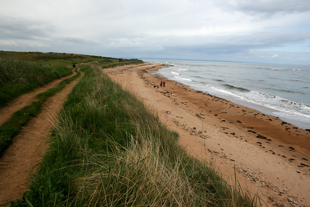 Cambo Sands, Fife Coast Path
