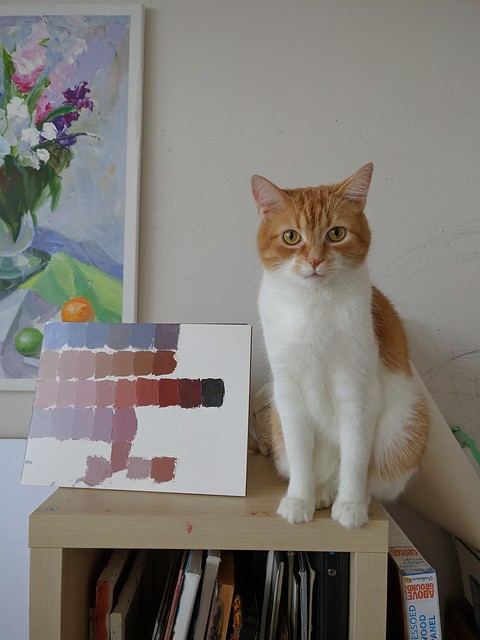 The Artist's Cat