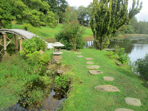 Path to Bridge, Cowden Japanese Garden