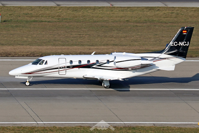 EC-NCJ  -  Cessna 560XL Citation XLS+  -  Private  -  ZRH/LSZH 21-1-20