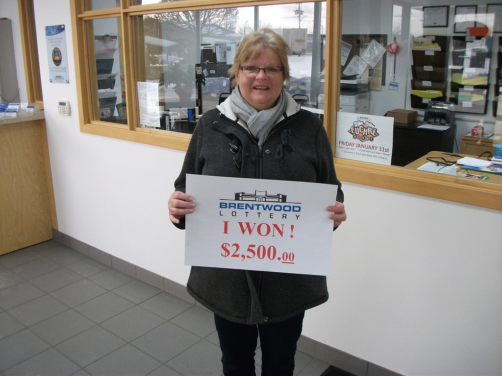 Betty Jane Noveletto won $2,500