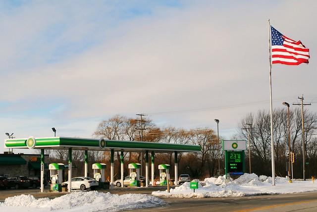 BP Station - Bristol, Wisconsin