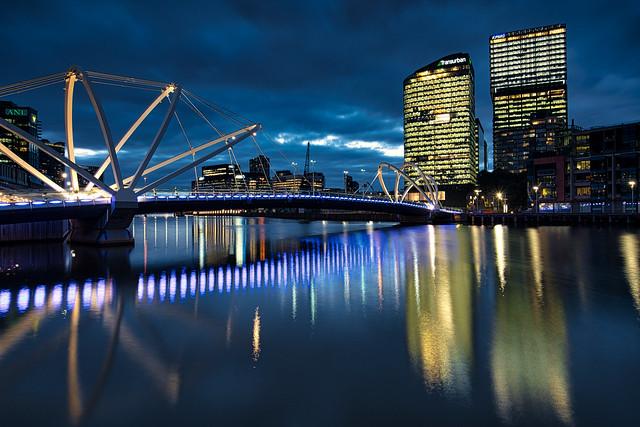 City Lights Melbourne...