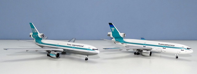 Trans International / Transamerica McDonnell Douglas DC-10-30s