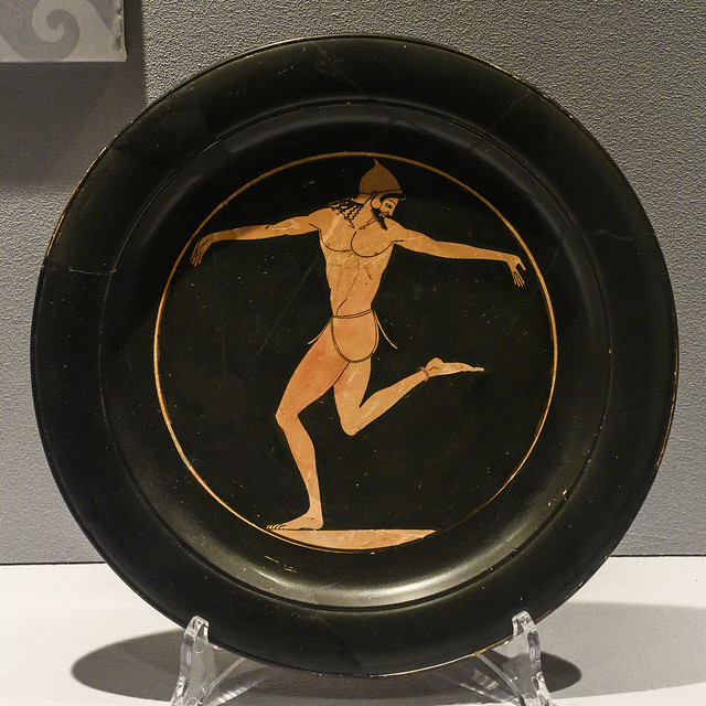 """""""The Colors of the Etruscans"""" - The Recovered Artworks XVIII – Dancing Man"""