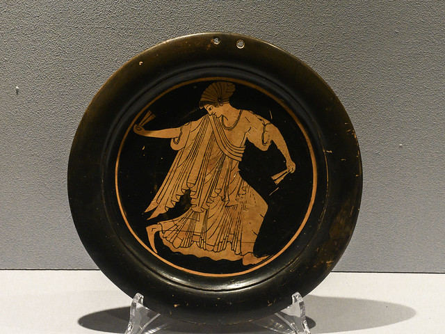"""""""The Colors of the Etruscans"""" - The Recovered Artworks XIX – Female Dancer"""