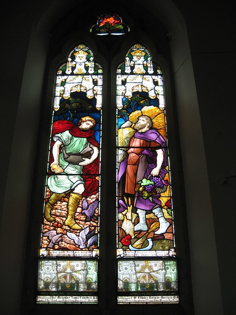 The Reverend Alexander James Campbell and Charles Norman Morrison Memorial Windows; The Former Saint George's Presbyterian Church - Corner Latrobe Terrace and Ryrie Street, Geelong