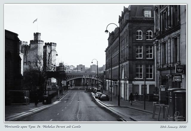 OCC023 Newcastle - St. Nicholas' Street and Castle