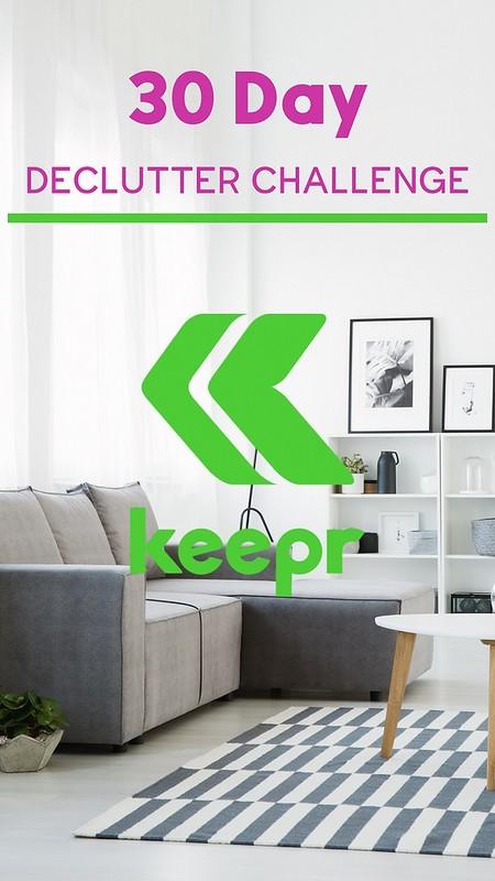 Keepr Declutter Challenge
