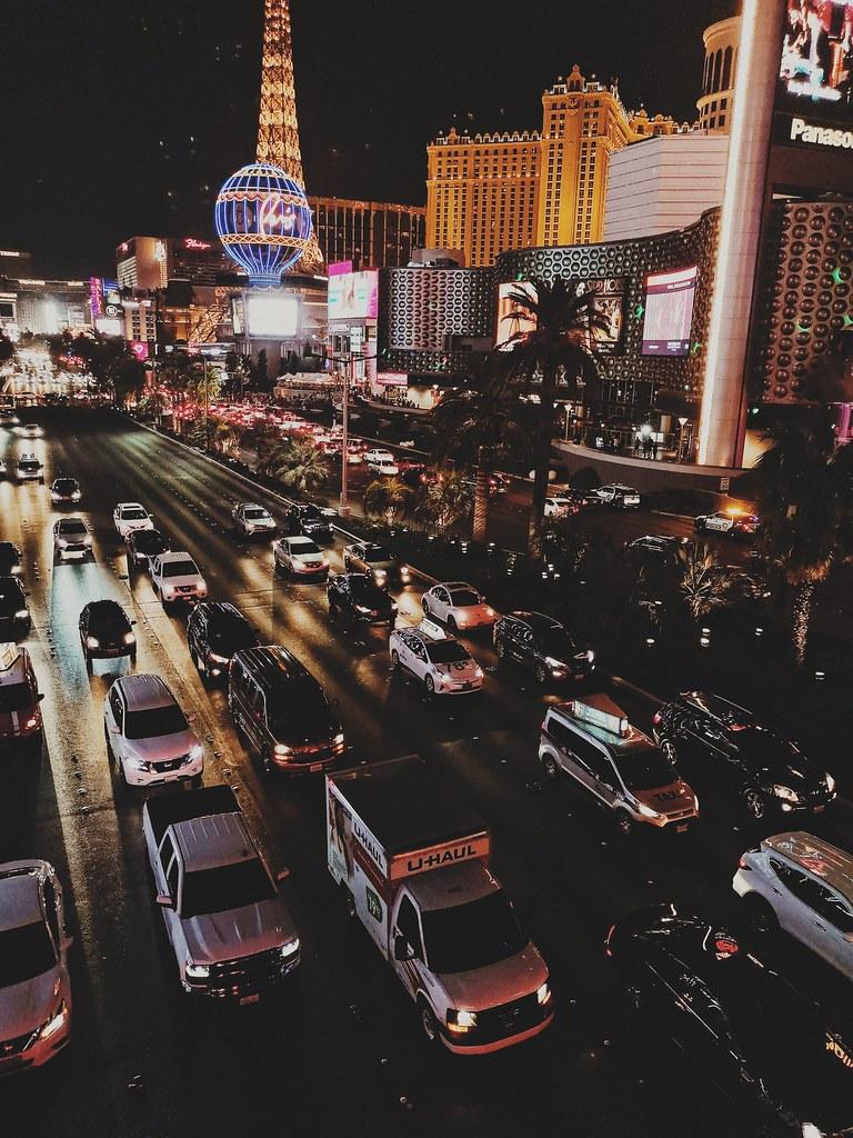 The Vegas Strip.