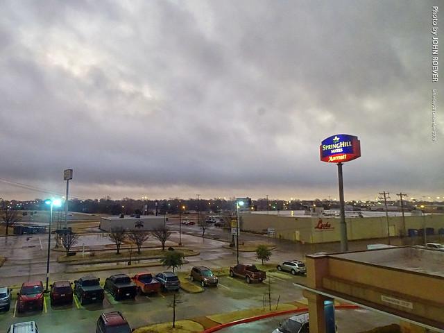 Rainy Morning in Moore, 28 Dec 2019