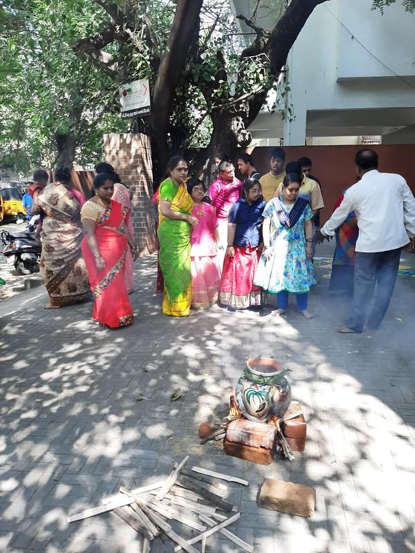 Pongal Celebrations at Mathru Mandir