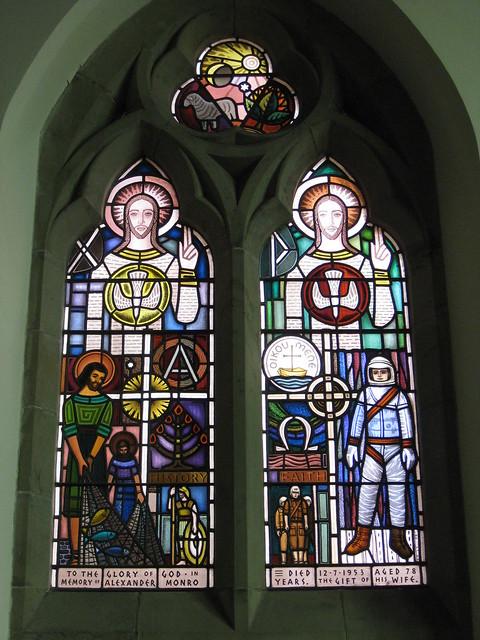 The Alexander Monro Memorial Window; The Former Saint George's Presbyterian Church - Corner Latrobe Terrace and Ryrie Street, Geelong