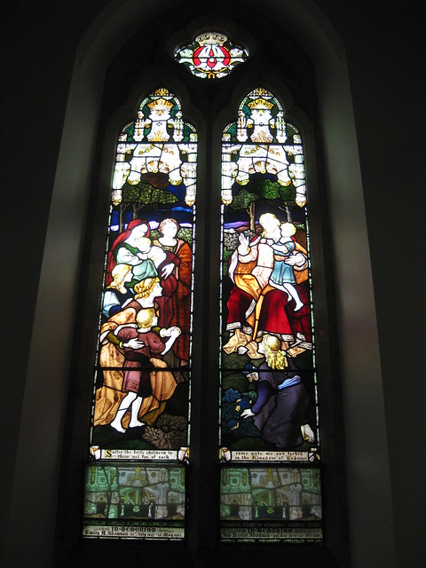 The Emily Agnes Shannon and Charles Hector Shannon Memorial Windows; The Former Saint George's Presbyterian Church - Corner Latrobe Terrace and Ryrie Street, Geelong