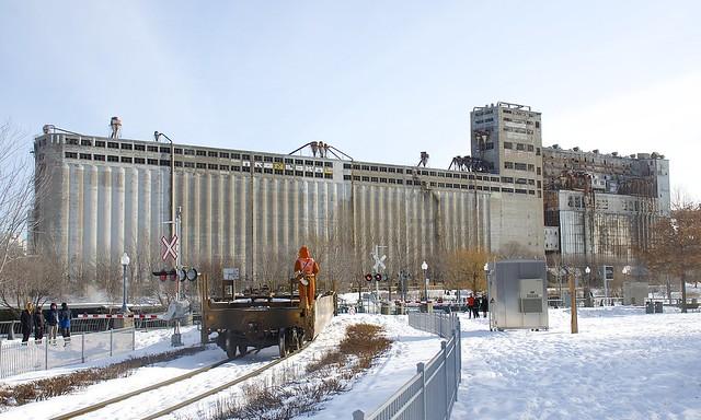 Towards grain elevator #5