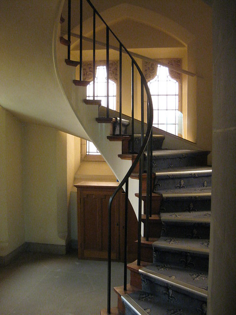 The Spiral Staircase Leading to the Choristers Gallery of the Former Saint George's Presbyterian Church – Corner Latrobe Terrace and Ryrie Street, Geelong