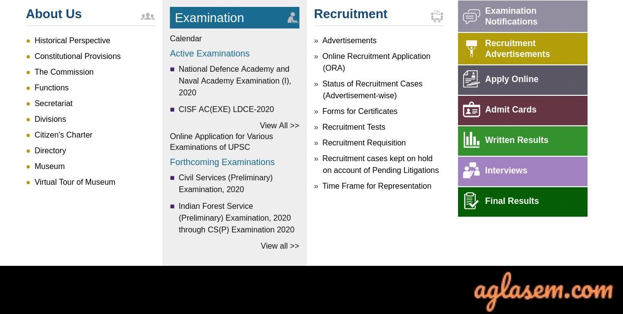 UPSC EPFO Enforcement Officer Result UPSC EPFO Enforcement Officer Result 2020 - Check Here @upsc.gov.in